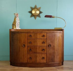 English oak sideboard - SOLD